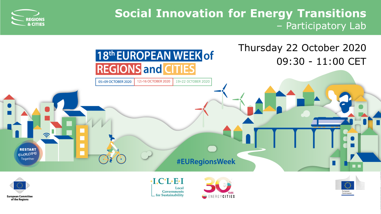 Join Us At The European Week Of Regions And Cities!