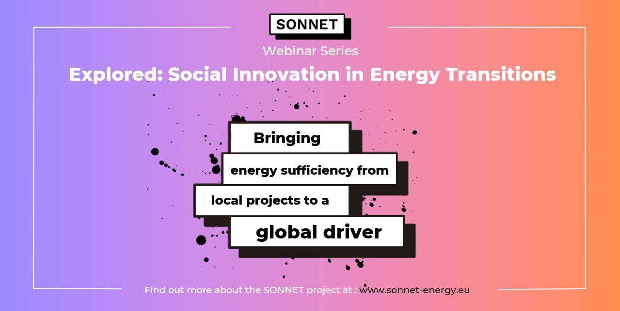 Registration Open For SONNET's May Webinar On 'energy Sufficiency'